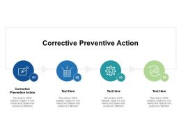 Corrective Preventive Action Ppt Powerpoint Presentation File Brochure Cpb