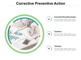 Corrective Preventive Action Ppt Powerpoint Presentation Portfolio Background Cpb