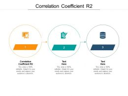 Correlation Coefficient R2 Ppt Powerpoint Presentation Layouts Pictures Cpb