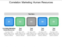 Correlation Marketing Human Resources Ppt Powerpoint Presentation Gallery Background Cpb