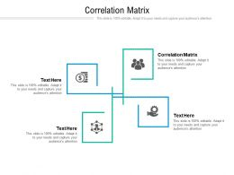 Correlation Matrix Ppt Powerpoint Presentation Infographic Template Objects Cpb