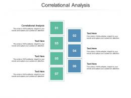 Correlational Analysis Ppt Powerpoint Presentation Pictures Structure Cpb