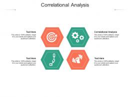 Correlational Analysis Ppt Powerpoint Presentation Professional Diagrams Cpb