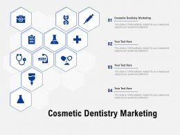 Cosmetic Dentistry Marketing Ppt Powerpoint Presentation Slides Example File