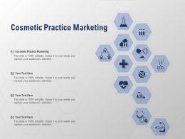 Cosmetic Practice Marketing Ppt Powerpoint Presentation Portfolio Themes