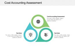 Cost Accounting Assessment Ppt Powerpoint Presentation Model Visual Aids Cpb