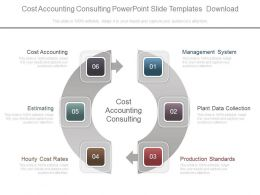 Cost Accounting Consulting Powerpoint Slide Templates Download