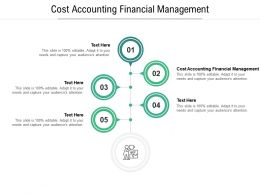Cost Accounting Financial Management Ppt Powerpoint Presentation Show Background Designs Cpb