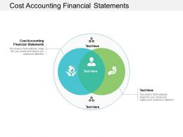 Cost Accounting Financial Statements Ppt Powerpoint Presentation File Cpb