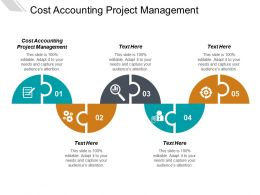 Cost Accounting Project Management Ppt Powerpoint Presentation Infographics Aids Cpb