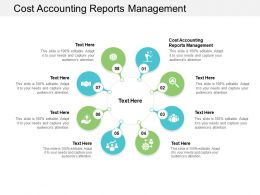 Cost Accounting Reports Management Ppt Powerpoint Presentation Rules Cpb