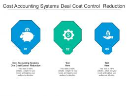 Cost Accounting Systems Deal Cost Control Reduction Cpb Ppt Powerpoint Presentation Portfolio Portrait Cpb