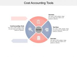 Cost Accounting Tools Ppt Powerpoint Presentation File Shapes Cpb