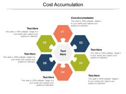 Cost Accumulation Ppt Powerpoint Presentation Icon Templates Cpb