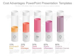 Cost Advantages Powerpoint Presentation Templates