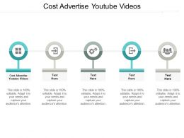 Cost Advertise Youtube Videos Ppt Powerpoint Presentation Gallery Inspiration Cpb