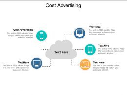 Cost Advertising Ppt Powerpoint Presentation Slides Design Inspiration Cpb