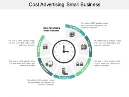 Cost Advertising Small Business Ppt Powerpoint Presentation Slides Portfolio Cpb