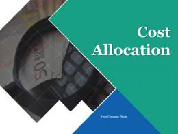 Cost Allocation Indirect Costs Allocation Direct Cost Output Per Month