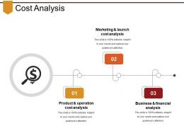 Cost Analysis Powerpoint Slides