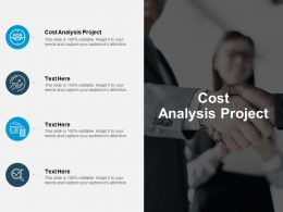 Cost Analysis Project Ppt Powerpoint Presentation Layouts Vector Cpb