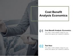 Cost Benefit Analysis Economics Ppt Powerpoint Presentation Ideas Samples Cpb