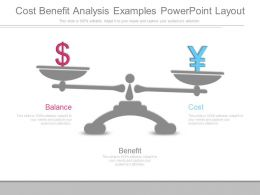 Cost Benefit Analysis Examples Powerpoint Layout