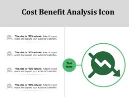 Cost Benefit Analysis Icon