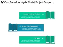 Cost Benefit Analysis Model Project Scope Management Decision Tree Cpb