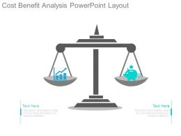 Cost Benefit Analysis Powerpoint Layout