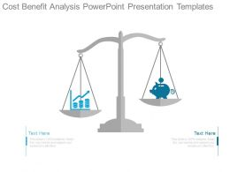 Cost Benefit Analysis Powerpoint Presentation Templates