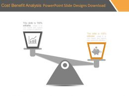 Cost Benefit Analysis Powerpoint Slide Designs Download