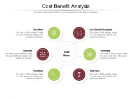 Cost Benefit Analysis Ppt Powerpoint Presentation Professional Pictures Cpb