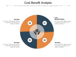Cost Benefit Analysis Ppt Powerpoint Presentation Summary Layout Ideas Cpb