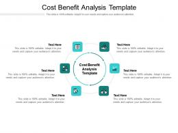Cost Benefit Analysis Template Ppt Powerpoint Presentation Portfolio Background Image Cpb