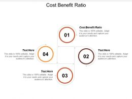 Cost Benefit Ratio Ppt Powerpoint Presentation File Guide Cpb