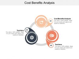 Cost Benefits Analysis Ppt Powerpoint Presentation File Clipart Images Cpb