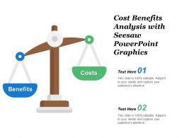 Cost Benefits Analysis With Seesaw Powerpoint Graphics