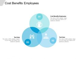 Cost Benefits Employees Ppt Powerpoint Presentation Model Slide Portrait Cpb