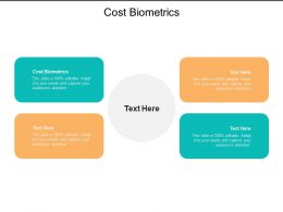 Cost Biometrics Ppt Powerpoint Presentation Pictures Backgrounds Cpb