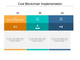 Cost Blockchain Implementation Ppt Powerpoint Presentation Model Microsoft Cpb