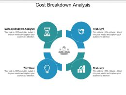 Cost Breakdown Analysis Ppt Powerpoint Presentation Icon Visuals Cpb