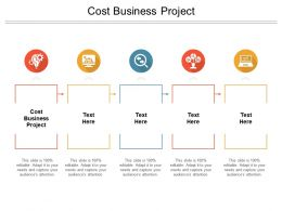 Cost Business Project Ppt Powerpoint Presentation Show Examples Cpb