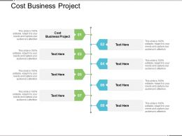 Cost Business Project Ppt Powerpoint Presentation Slides Shapes Cpb