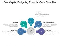 Cost Capital Budgeting Financial Cash Flow Risk Evaluation