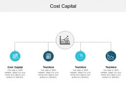Cost Capital Ppt Powerpoint Presentation File Template Cpb