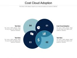 Cost Cloud Adoption Ppt Powerpoint Presentation Icon Deck Cpb