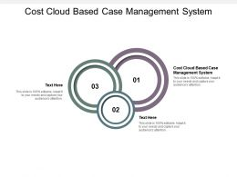 Cost Cloud Based Case Management System Ppt Powerpoint Presentation Gallery Clipart Cpb