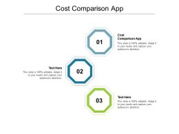 Cost Comparison App Ppt Powerpoint Presentation Portfolio Template Cpb