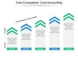 Cost Comparison Cost Accounting Ppt Powerpoint Presentation Icon Samples Cpb